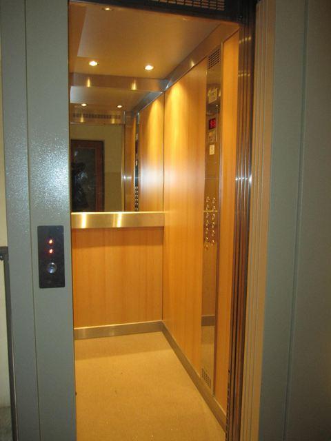 rekonstrukce výtahu